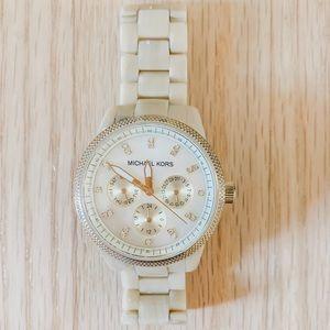 Michael Kors Bone Inlay Watch